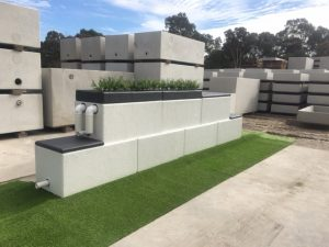 Concrete Block Tanks